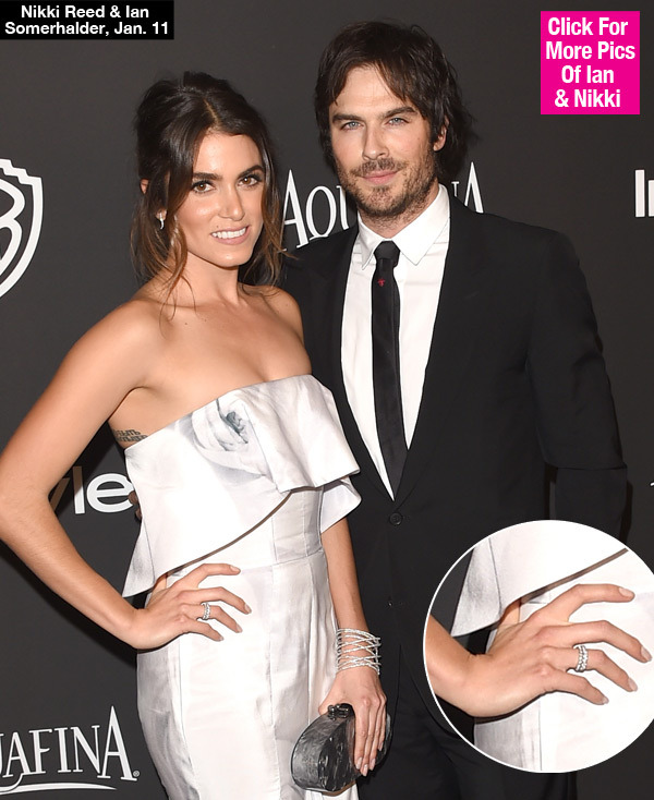 Nikki Reed Engaged Ian Somerhalder Proposed Gty Lead